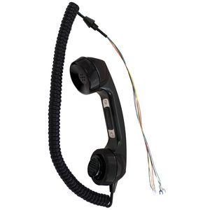 Handset Assembly, Black, 6' Hytrel Cord
