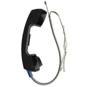 "Handset Assembly, Black, 15"" LNYRD Armored Cord"