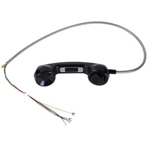 "Handset Assembly, Black, 29"" LNYRD Armored Cord"