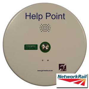 PHP Help Point (GSM), white, 1 button, 48 VDC
