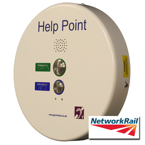 PHP Help Point (GSM), white, 2 button, 48 VDC