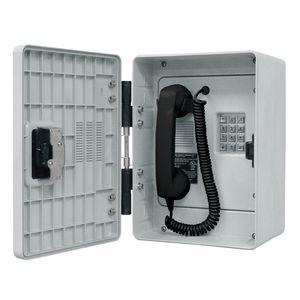 Outdoor Rugged Telephone - Analog, Spring Door Option (Keypad)