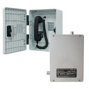 Intrinsically Safe Telephone Station - Outdoor, Analog