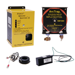 Ground Check Monitor & Ground Faulty Relay
