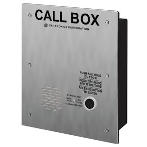 RF Call Box, Flush, UHF (450-470MHz)