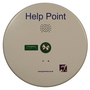 PHP400 Help Point (SMART analogue), white, 1 button (requires 230 VAC mains power)