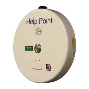PHP400 Help Point (GSM), white, 1 button, 48 VDC