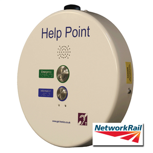 PHP400 Help Point (GSM), white, 2 button, 48 VDC