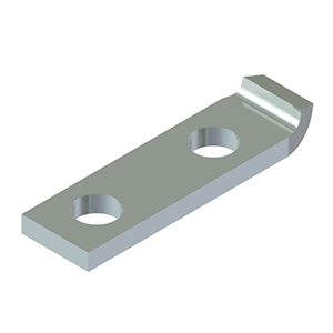 Tin Plated Copper CB-33 Style Lug