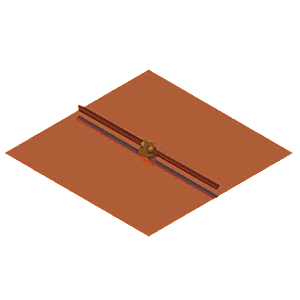 Copper Ground Plate