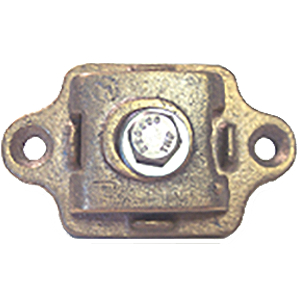 BONDING PLATE - CAST, ALUMINUM - UL LISTED
