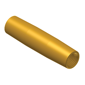 Ground Rod Threaded Coupling - Bronze