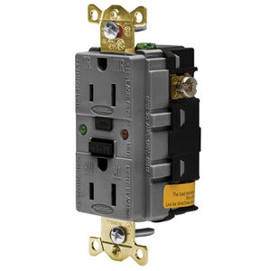 receptacles gfci wiring devices electrical electronic GFCI Outlet gfr5262sggy