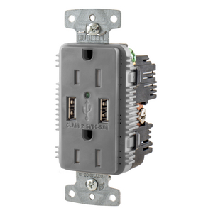 usb receptacles straight blade devices wiring devices rh hubbell com