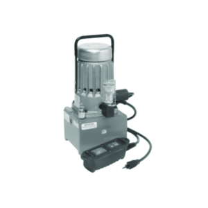 Electric Hydraulic Pump, Use with all HYPRESS™ remote crimpers and cutters, 5/8 HP Motor, 8,800 psi, 1.61 Quarts