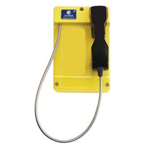 Commander (GSM-R) yellow, steel cord, 0 button (CB) (Power Connector), CE Marked