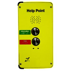 DDA Help Point (VoIP), 2 button, hands-free (faceplate only)