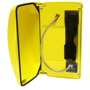 Titan (VoIP) yellow, steel cord, 0 button (CE Marked)