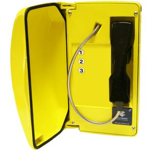 Titan (VoIP) yellow, steel cord, 3 button (CE Marked)