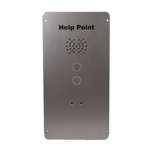 VR Help Point (VoIP), 2 button, hands-free (faceplate only)