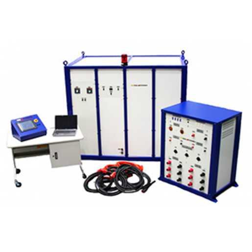 White High Voltage Test Equipment : Mts series brand haefely hipotronics