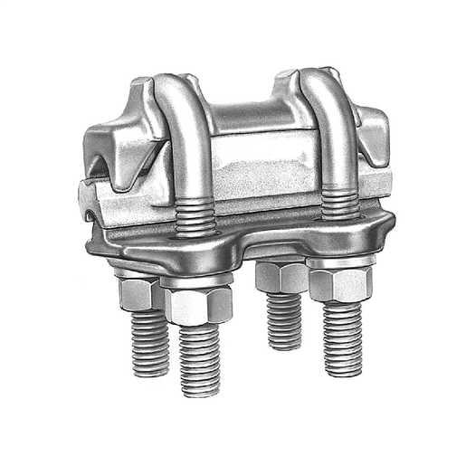 Connector parallel groove brand hubbell power systems