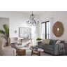 PROG_Bowman_Black_Stone_Glass_Sconce_Livingroom_appshot
