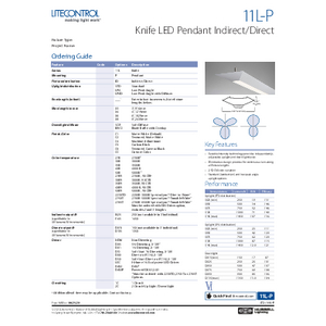 11L_P Specification Sheet