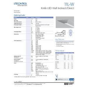 11L-W Specification Sheet