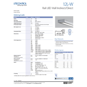 12L-W Specification Sheet