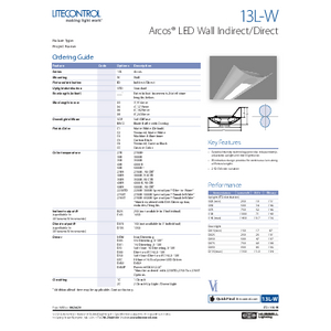 13L-W Specification Sheet