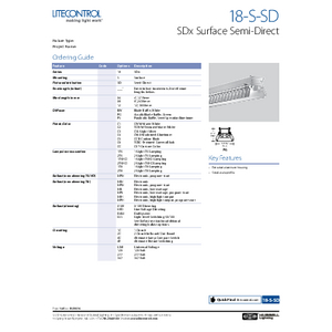 18-S-SD Spec Sheet