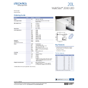 20L Specification Sheet