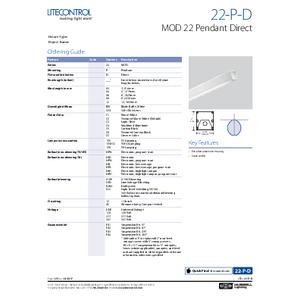 22-P-D Spec Sheet