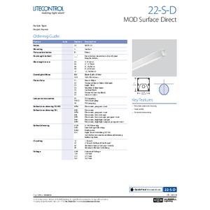 22-S-D Spec Sheet