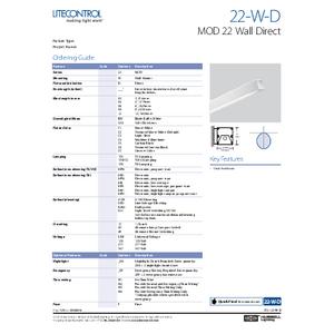 22-W-D Spec Sheet