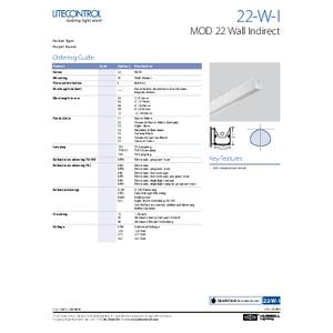 22-W-I Spec Sheet