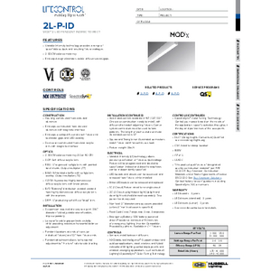 2L-P-ID Specification Sheet