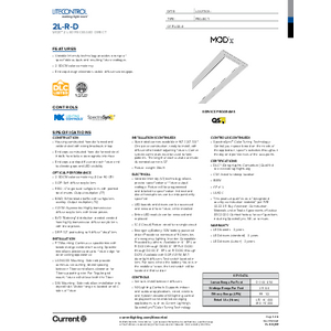 2L-R-D Specification Sheet