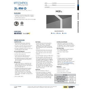 2L-RW-D Specification Sheet