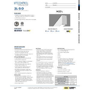 2L-S-D Specification Sheet