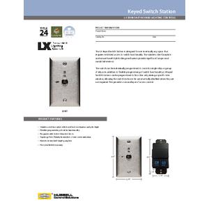 LX Key Specification Sheet