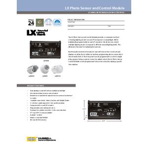 LX Photo Sensor Control Module