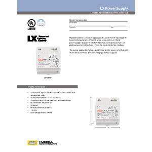 LX Power Supply