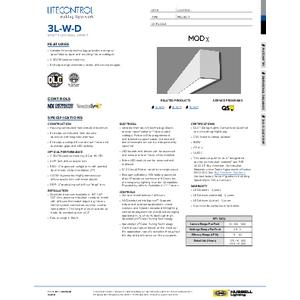 3L-W-D Specification Sheet