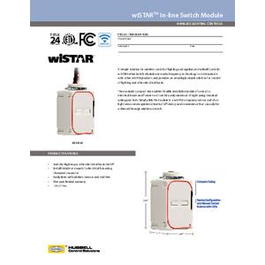 wiSTAR In-line Switch Module Spec Sheet