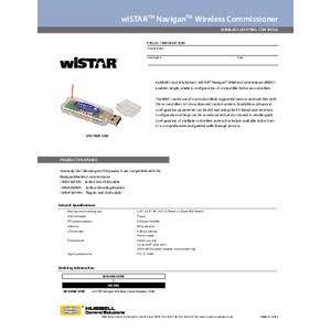 wiSTAR Navigan Wireless Commissioner Spec Sheet