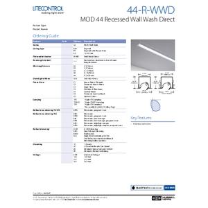 44-R-WWD Spec Sheet