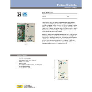 DLCPCC Specification Sheet
