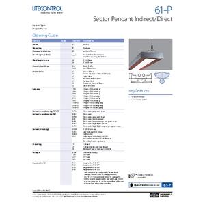 61-P Spec Sheet